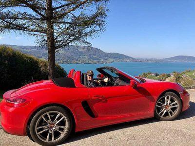 brugt Porsche Boxster BoxsterPDK Scheckheftgepflegt Rot Cabrio / Roadster,
