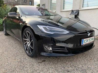 gebraucht Tesla Model S 100 kWh Performance Lucrious Mode Limousine
