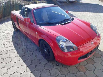 gebraucht Toyota MR2 MR2/W3 rot Cabrio / Roadster