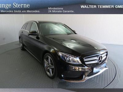 brugt Mercedes C200 d T AMG Line