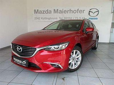 gebraucht Mazda 6 6Sport Combi CD150 Attraction AWD Kombi / Family Van,