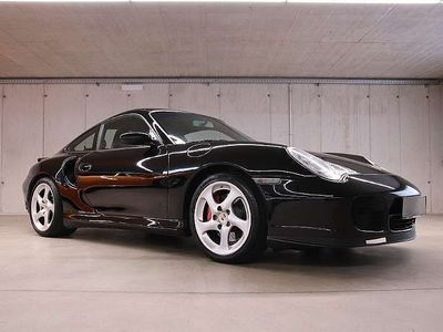 gebraucht Porsche 911 Turbo *Handschalter* Schwarz/Schwarz*VOLL* Sportwagen / Coupé
