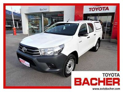 gebraucht Toyota HiLux 2,4 D-4D DOKA 4WD Country'16