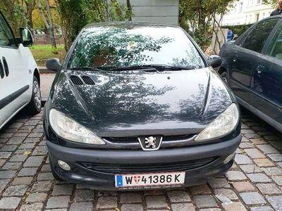 gebraucht Peugeot 206 CC 1.6 Cabrio / Roadster