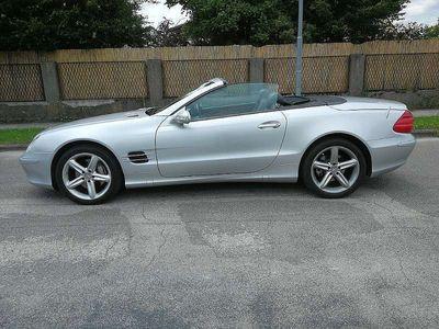 gebraucht Mercedes SL500 Roadster Aut. TOPPREIS !!