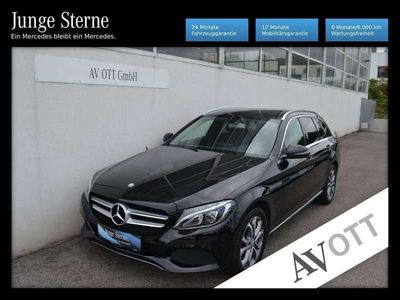 gebraucht Mercedes C350e T Avantgarde Aut. Air LED Navi Teilleder Au