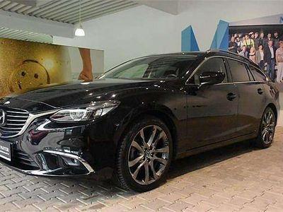 gebraucht Mazda 6 6Sport Combi CD175 Revolution Top AWD Aut. Kombi / Family Van,