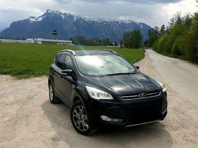 gebraucht Ford Kuga 2,0 TDCi Titanium 4x4 Aut., Bi-Xenon, Panorama SUV / Geländewagen