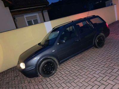 gebraucht VW Golf 1.9 TDI 4-Motion Highline Kombi / Family Van