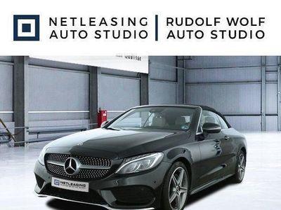 brugt Mercedes C180 Cabrio AMG+Cabrio-Komf.+Navi+LED-ILS+SHZ+