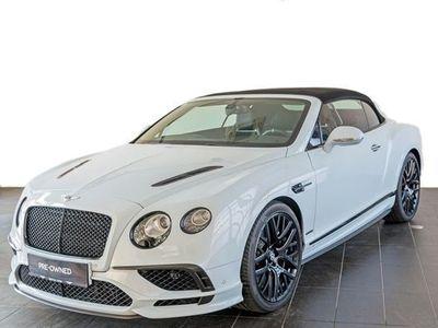 gebraucht Bentley Continental Supersports Convertible