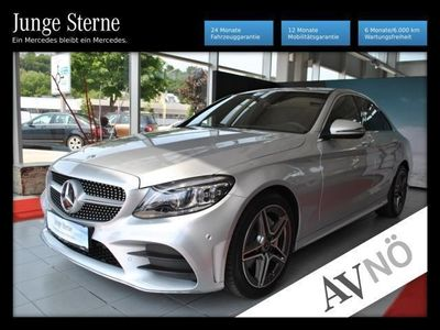 gebraucht Mercedes C220 d Lim. AMG Line u.v.m.