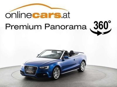 used Audi A5 Cabriolet quattro 2.0 TDI S-LINE XENON NAVI MEGAFARB
