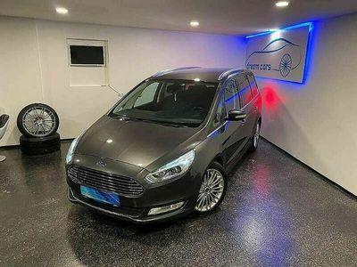 gebraucht Ford Galaxy 2,0 TDCi Powershift*TITANIUM*7 SITZER*NAVI*SPURHALTE+