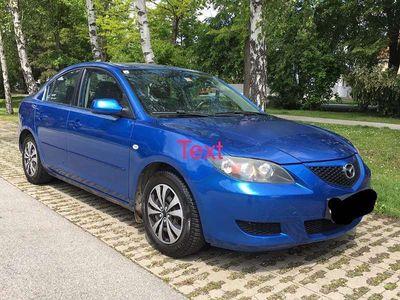 gebraucht Mazda 3 1,6 benzin Limousine,