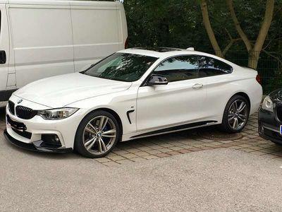 gebraucht BMW 435 4er-Reihe d xDrive Coupé F32 N57 M-Paket Sportwagen / Coupé