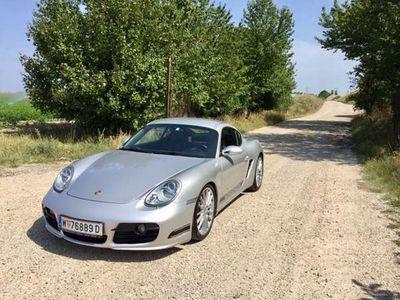 gebraucht Porsche Cayman S 3,4 Schalter Navi Sportabgasanlage Sportfedern Sportwagen / Coupé,