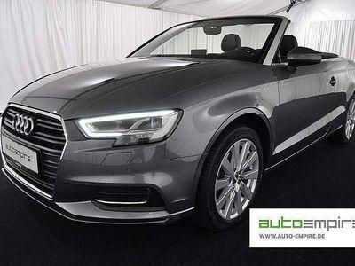 gebraucht Audi A3 Cabriolet Cabrio 2.0-TDI S-tronic Design LED/NAVI-MMI / Roadster