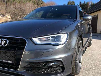 gebraucht Audi A3 8V Sport Quattro S-Line Klein-/ Kompaktwagen