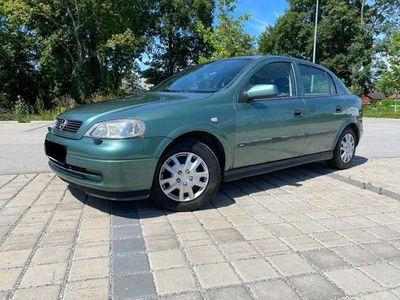 gebraucht Opel Astra Edition 100 *Pickerl bis 6/2021* Klima*MFL*Alu* Klein-/ Kompaktwagen