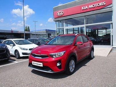 used Kia Stonic 1,25 MPI ISG Silber Silber