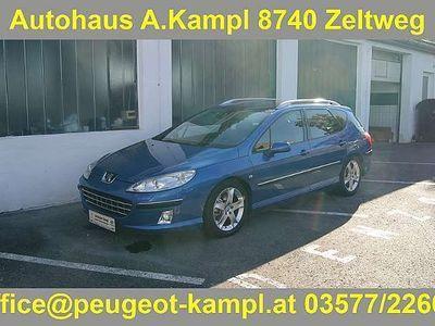 gebraucht Peugeot 407 SW Active 2,0 HDI 136 ohne Pickerl Kombi / Family Van