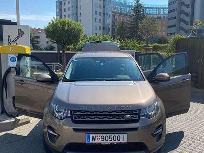 gebraucht Land Rover Discovery Sport 2,0 TD4 SE Aut SUV / Geländewagen