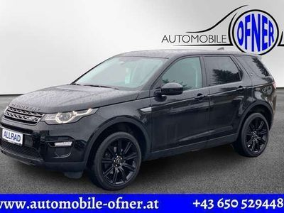 gebraucht Land Rover Discovery Sport 2,0 TD4 4WD *20 Zoll*Panoramadach*AHK*