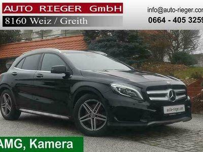 gebraucht Mercedes GLA220 CDI 4Matic AMG-Paket Distronic Kamera Leder