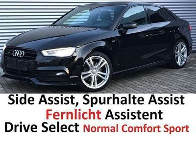 gebraucht Audi A3 Sport Limo TDI quattro S-tronic, S-Line, ACC, 18