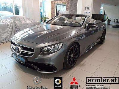 gebraucht Mercedes S63 AMG S-KlasseAMG 4MATIC Cabrio Aut. Cabrio / Roadster