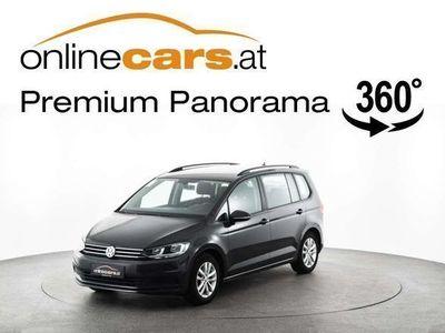gebraucht VW Touran Comfortl. 1,6 TDI BMT AHK WINTERPAKET Kombi / Family Van,