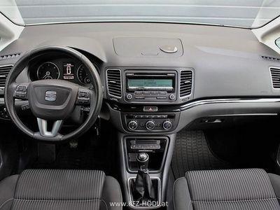 gebraucht Seat Alhambra Sport Style 2,0 TDI CR Xenon 7 Sitzer Kombi / Family Van,