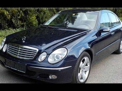 gebraucht Mercedes E240 E-Klasse177PS Limousine