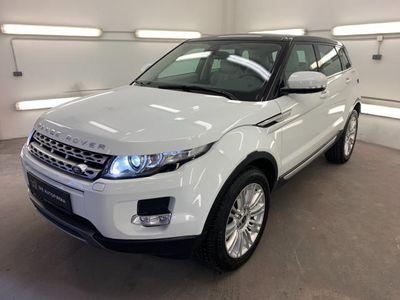 gebraucht Land Rover Range Rover evoque Prestige 2,2 SD4 Aut.*AHK*NAVI*LEDER*KAMERA