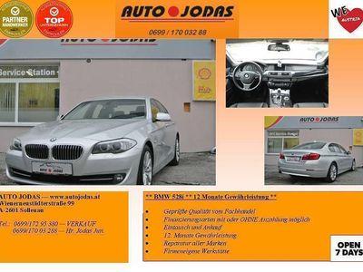 gebraucht BMW 528 5er-Reihe (F10) Österreich-Paket Aut. **12M.Ge