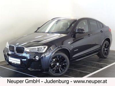 gebraucht BMW X4 xDrive 35d Österreich-Paket Aut. SUV / Geländewagen,