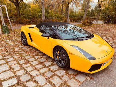 gebraucht Lamborghini Gallardo E-Gear Spyder Cabrio / Roadster