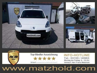 gebraucht Peugeot Partner 1,6 BlueHDI 75 KLIMA | nur 32 TKM | TOPOPTIK!