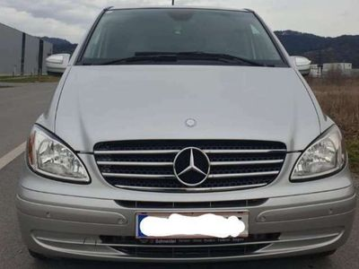 gebraucht Mercedes Viano Trend lang 3,0 CDI Aut.