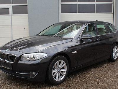 used BMW 520 5er-Reihe d Touring Ö-Paket Aut. *Leder* 1.Besitz! Kombi / Family Van,