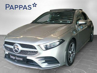 gebraucht Mercedes A220 d 4MATIC Aut. *AMG-Line*Panoramadach*Distronik*Navi*LED*u.v.m.*