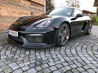gebraucht Porsche Cayman GT4**Kein Leasingrückläufer Sportwagen / Coupé