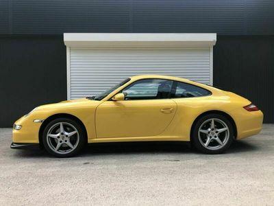 gebraucht Porsche 911 Carrera 4 Coupé Allrad ÖsterreicherSpeedgelb