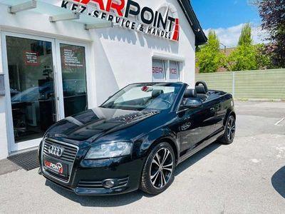 gebraucht Audi A3 Cabriolet 1,9 TDI Navi, PDC, Leder TOP