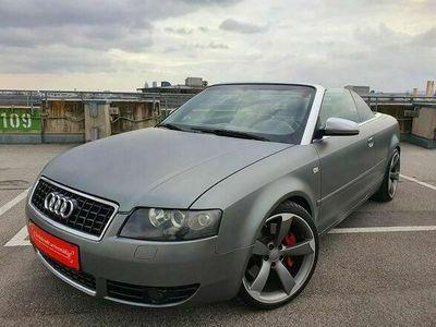 gebraucht Audi A4 Cabriolet S4 4,2 V8 quattro *** RARITÄT Ein Einzige Europaweit *** Cabrio / Roadster