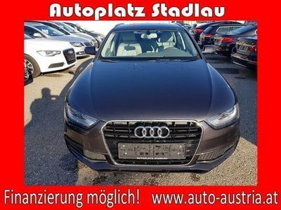 gebraucht Audi A4 Avant 2,0 TDI Intense Aut. S-LINE LEDER NAVI... Kombi / Family Van,