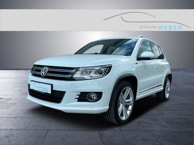 gebraucht VW Tiguan 20 TDI SCR 4Motion R-Line Navi AHK