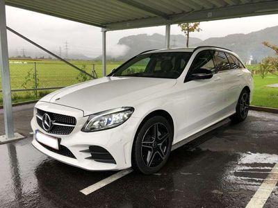 gebraucht Mercedes C220 d T 4MATIC Aut. AMG-Line