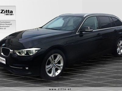 gebraucht BMW 320 3er-Reihe d xDrive Touring Sport Line Aut. Kombi / Family Van,